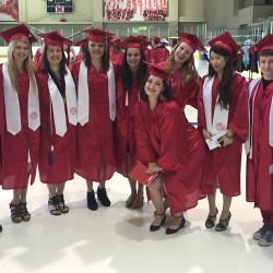 graduating student teachers