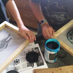 Screen Printing Picture