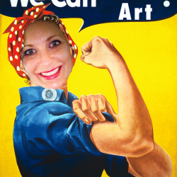 """poster that says """"We Can Pass Art!"""""""