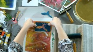 Creating with Gel Printing Plates