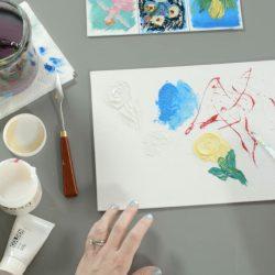 Using Acrylic Gels and Mediums