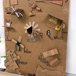 cardboard attachments