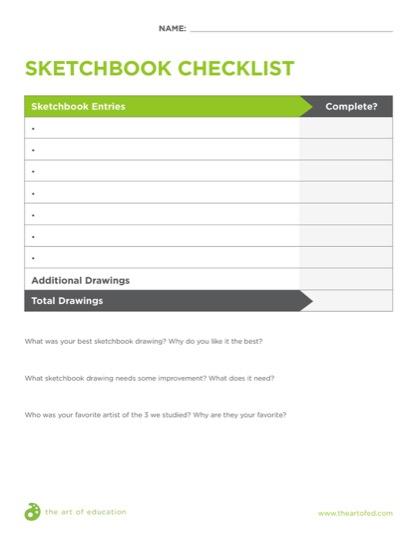 https://artofed-uploads-prod.nyc3.cdn.digitaloceanspaces.com/2018/04/SketchbookChecklist.pdf