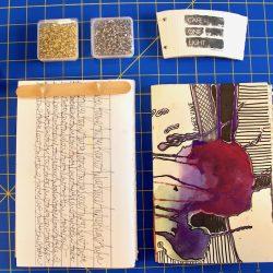 recycled sketchbook
