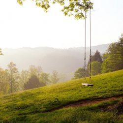 empty swing