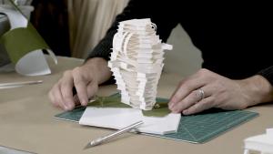 Exploring Architecture Through Paper Sculpture