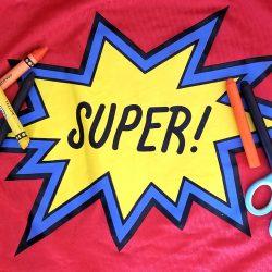 art teacher as super hero