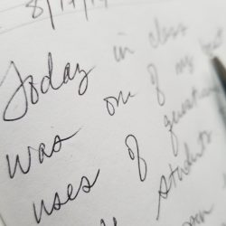 journal text