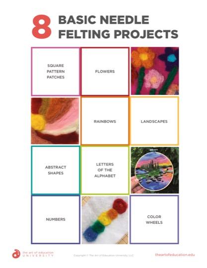 https://artofed-uploads-prod.nyc3.cdn.digitaloceanspaces.com/2020/06/65.1-BasicNeedleFeltingProjects.pdf