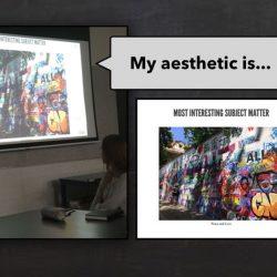 Slide from presentation