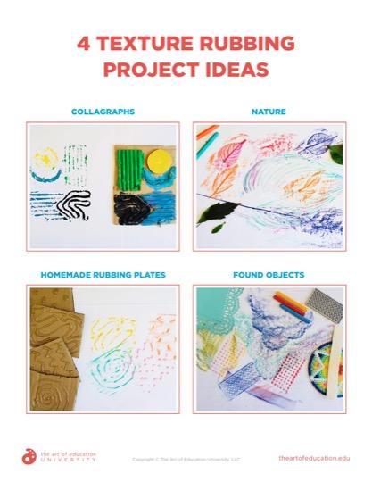 https://artofed-uploads-prod.nyc3.cdn.digitaloceanspaces.com/2020/10/78.2-4TextureRubbingProjectIdeas.pdf