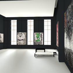 virtual gallery space