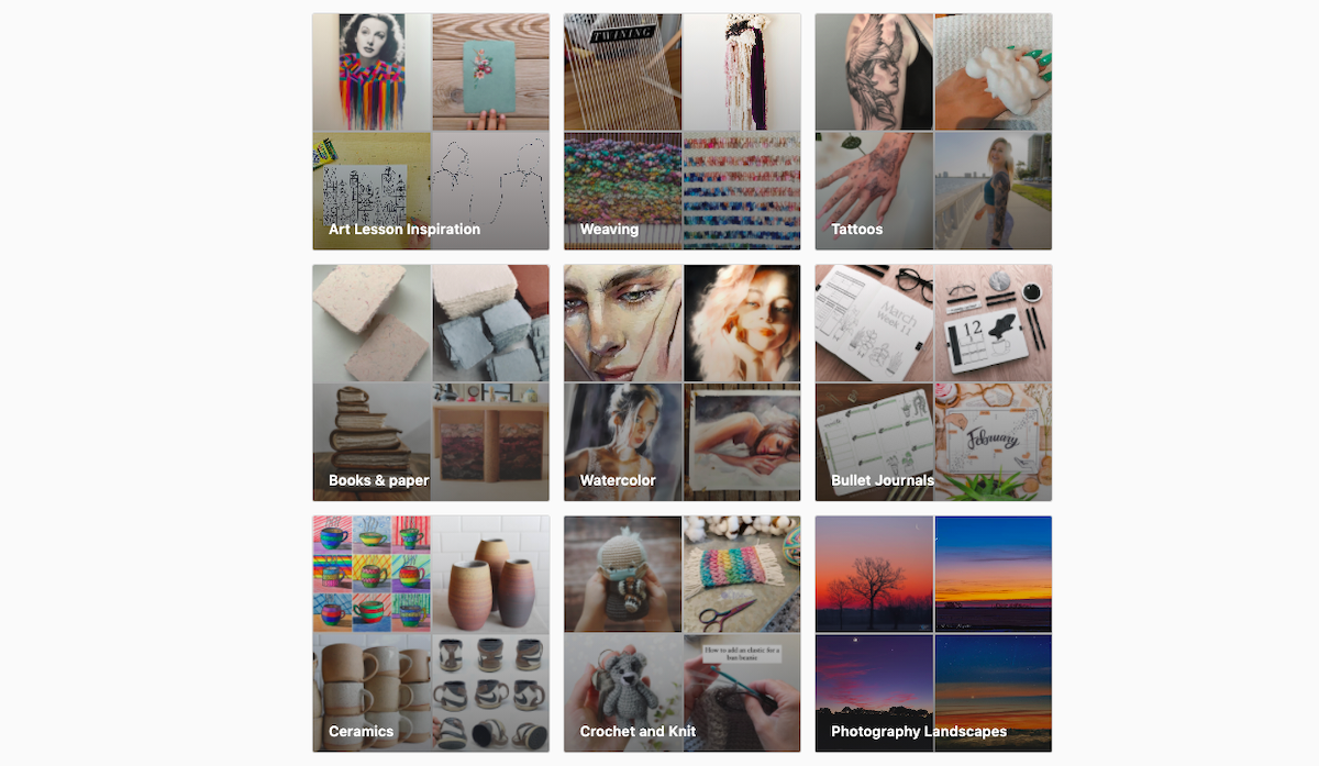 saved instagram collections