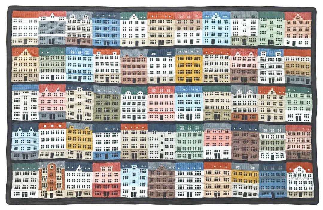 knitted artwork by Jake Henzler