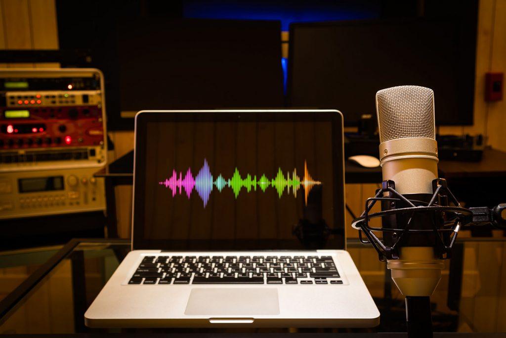 macbook recording audio with microphone