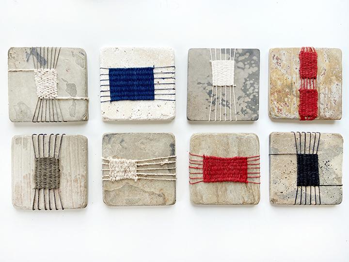 Stone Tile Weavings