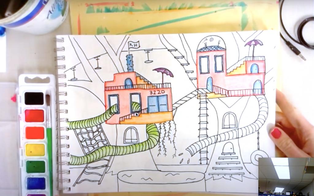 treehouse artwork video still