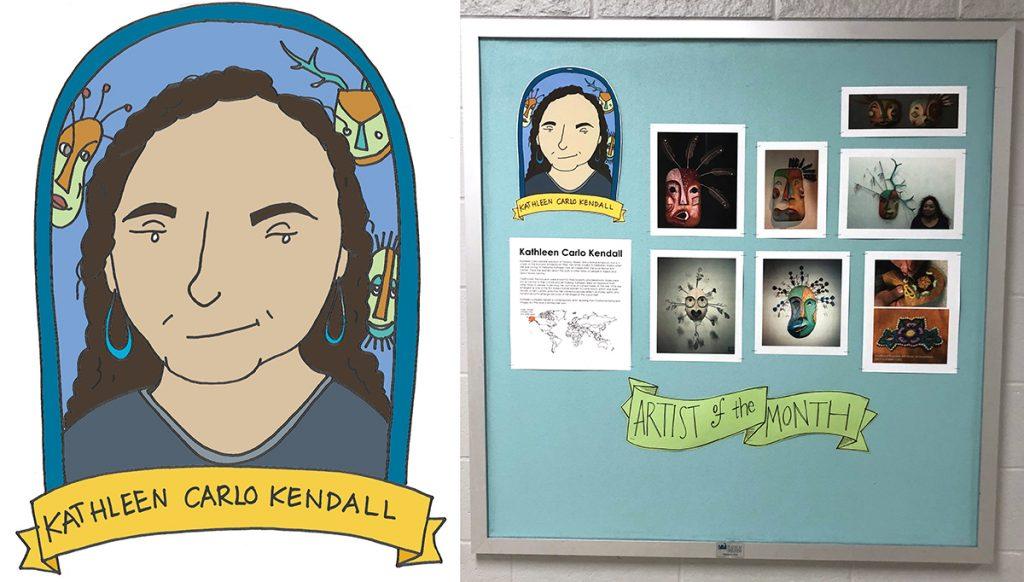 kathleen carlo kendall artist board