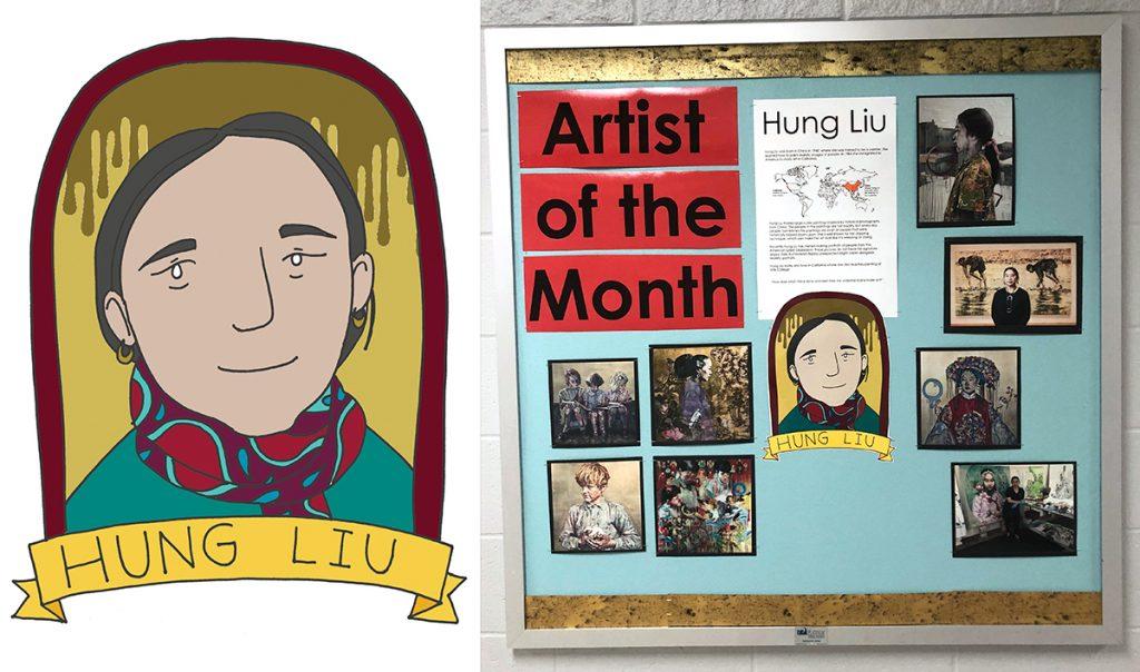 hung liu artist board