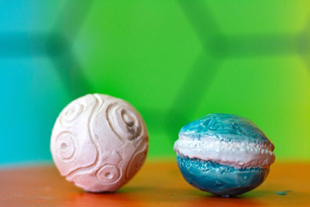 final ceramic sphere artwork